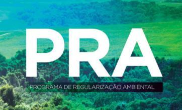 Projeto de Regularização Ambiental – PRA