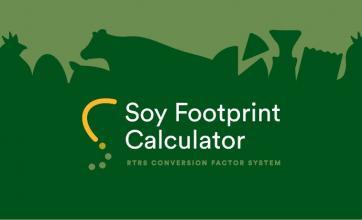 Quanta soja é utilizada na fabricação de um produto?