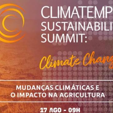 Climatempo reúne time de especialistas para debater impactos das mudanças climáticas no Agro